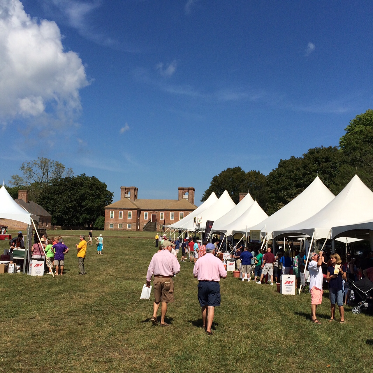 Stratford Hall Wine & Oyster Festival 2015