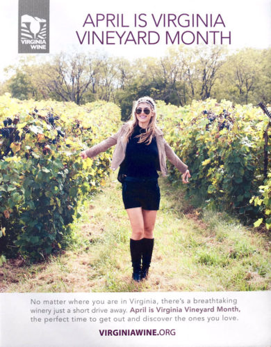 April is Virginia Vineyard Month!