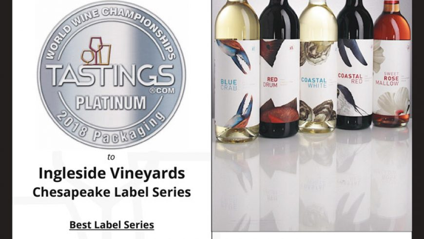 "Our Chesapeake Series wins ""Best Label Series"""